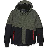 Brunotti niña Idaho Jr Boys Snow Jacket Chaqueta, niña, Idaho JR Boys Snowjacket, Pine Grey