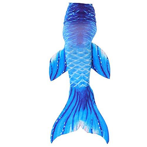 Fanryn niedlich Mädchen Meerjungfrau Schwimmanzug Meerjungfrauenschwanz zum Schwimmen Badeanzüge Kostüm Badeanzug Kann Monofin treffen für Kinderschwimmen Schwimm (Vier Personen Für Kostüme)