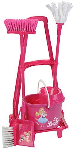 Klein - 6352 - Jeu d'imitation - Chariot de ménage Barbie avec accessoires