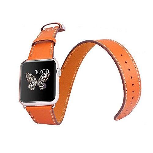 hoco-lederarmbander-fur-apple-watch-im-hermes-stil-3er-pack-orange-apple-watch-38mm