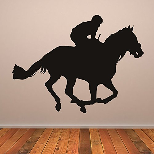 jockey-corse-di-cavalli-da-cortile-animali-wall-stickers-corsa-decor-art-stickers-disponibile-in-5-d