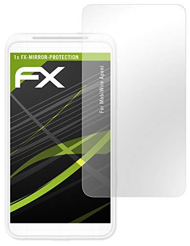 atFolix Bildschirmfolie für MobiWire Aponi Spiegelfolie, Spiegeleffekt FX Schutzfolie