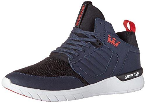 Supra Herren Method Sneaker Blau (Navy-White)