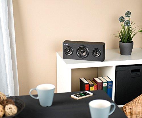 auvisio BT 4.0 Regal-Lautsprecher – ZX1578 – 2.1-Sound – Holz - 3