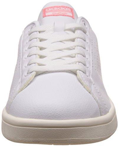 best sneakers e1f6e f15d1 adidas Cloudfoam Advantage Clean W, Scarpe da Ginnastica Basse Donna Bianco  (Footwear White  ...