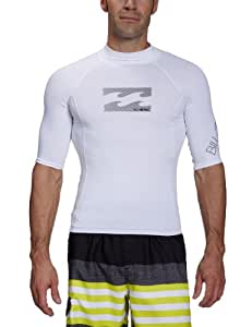 Billabong Herren Lycra All Day Short Sleeve, white, L, J4MY01BIS2
