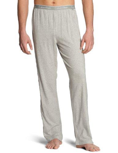 Calvin Klein CK ONE - Cotton Stretch Sleepwear Robe U8507A Herren Nachtwäsche/ Hosen, Gr. 7 XL, Grau (080) (Calvin Herren-nachtwäsche Klein)