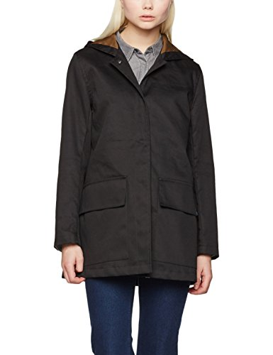 aa2052aac Gloverall Women's Parka Coat, (Black), 14 (Size:Large)