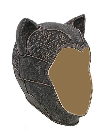 Meksy Catwoman Maske Cosplay Mask Halloween Latexmaske Game Zubehör aus Batman Arkham Knight für Party, Karneval und Fasching