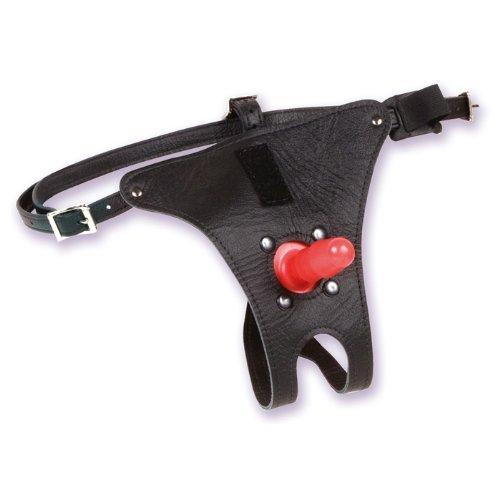 Doc Johnson – Vac-U-Lock Leather Ultra Harness 3000 With Plug - 4