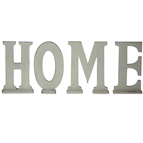 Pide X esa Boca 32009 - Letras Decorativas HOME Madera Envejecido Set