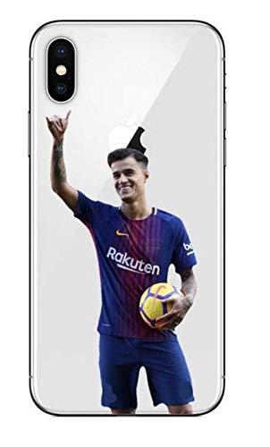 Coque iPhone 6/6S Philippe Coutinho Football Brésil Barcelone Liga Sport Ballon