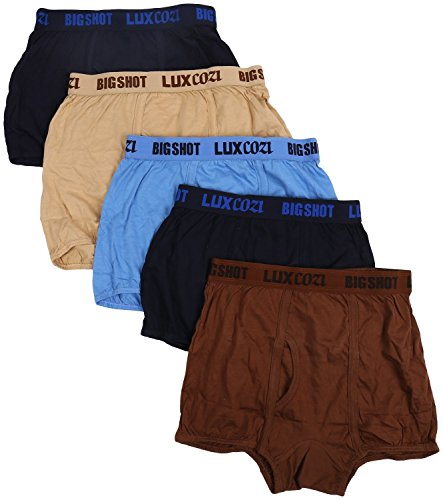 Lux Men's Cotton Trunk (Pack Of 5) - 85