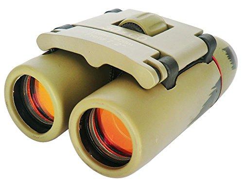 30x60 Einstellbar Mini Fernglas, TKSTAR Faltendes Teleskop Tragbar Binoculars mit Nachtsicht für Outdoor-Jagd Clear Bird Watching Sightseeing S30X60 (Grün, Rot Film) (Auge Kompakte True)