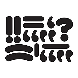 Ashley Productions ASH10099 Magnetic Punctuation Marks