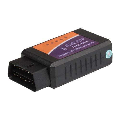 flexzion Bluetooth Kfz Interface Scanner Tool ELM327V1.5OBD2Auto motorkontrollleuchte Diagnose Adapter funktioniert mit allen OBD-II-kompatiblen Fahrzeugen auf Drehmoment Android (Scanner Actron Obd2)