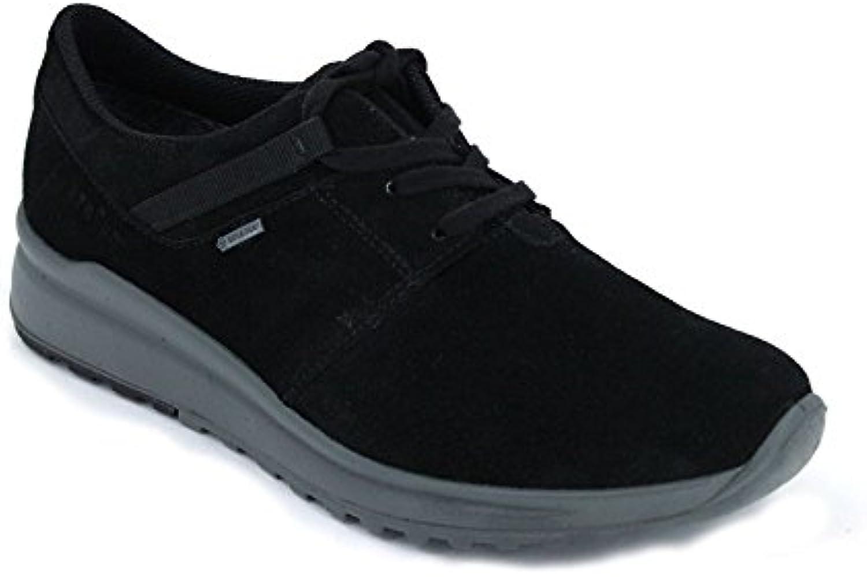 Legero Zapatos Cordón Mujer GTX 7-00591 - 37,5, Serraje Negro