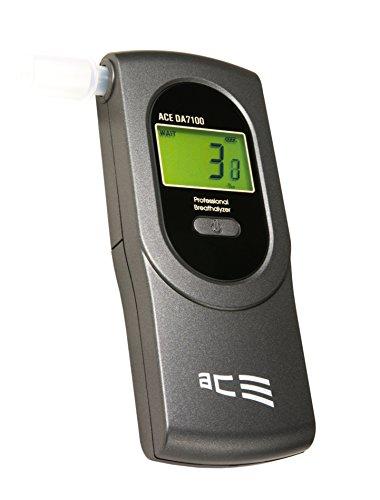 ACE+ DA-7100 - Alcoholímetro con sensor electroquímico, color gris