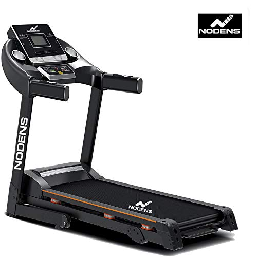 NODENS Fitness 2 HP (4.0 HP Peak), Light Weight, Foldable Motorized Treadmill for Your Fitness Workout at Home