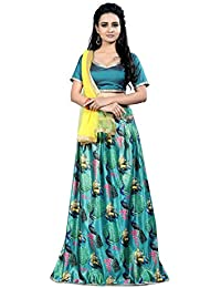 fc25ff0ad4fda4 Amazon.in: Greens - Lehenga Cholis / Ethnic Wear: Clothing & Accessories
