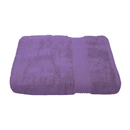 Julie Julsen Handtuch in 23 Farben erhältlich weich und saugstark 500gsm Öko Tex 50 x 100 cm Lavendel (Lavendel Handtuch)