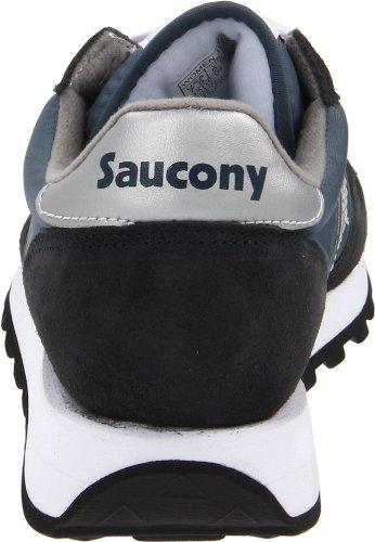 Saucony Jazz Original, Scarpe da Ginnastica Basse Donna Blu (Navy/Silver)