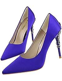 Moquite Zapatos Mujer Zapatos De Tacón Mujer Primavera Verano Sandalias  Fiesta High Heels De Tacón Alto c8f8c310fba9