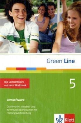 Green Line, Neue Ausgabe für Gymnasien, Bd.5 : Klasse 9, Die Lernsoftware aus dem Workbook, 1 CD-ROM Grammatik-, Vokabel- und Kommunikationstrainer mit Prüfungsvorbereitung. Einzelplatzlizenz. Für Windows 98 (SE), ME, NT, 2000, XP, Vista