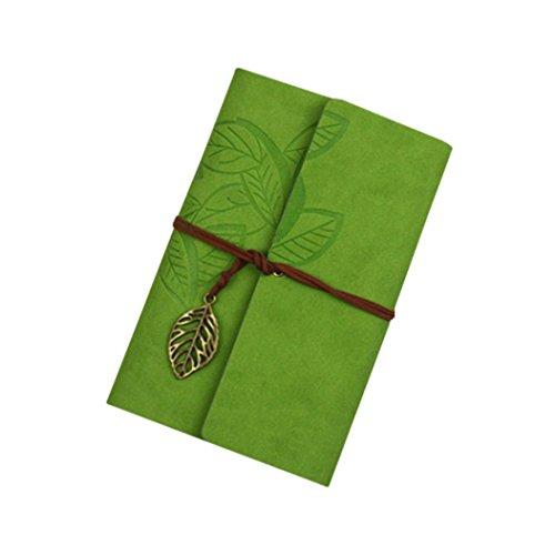 DRESS_start Klassisches Kraftpapier-BüGel Notizbuch Tragbares Kreatives Schmetterling Tagebuch-Buch Geschenk 18.4 * 12.8cm Notizbuch Kariert (G)