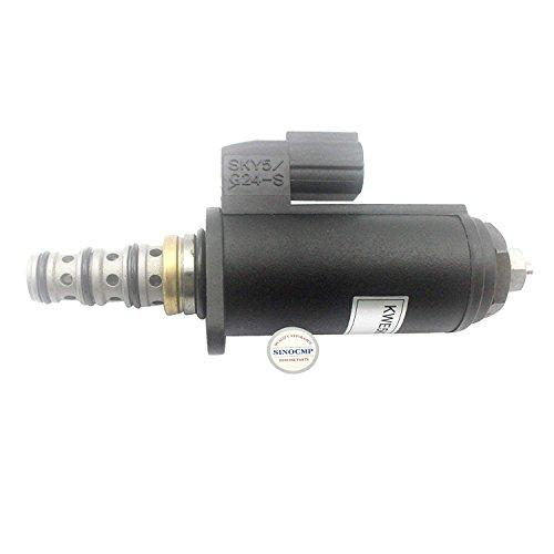 Sinocmp Pompe hydraulique Électrovanne Kwe5 K-31/40 C50-213 Yn35 V00049 F1 pour Kobelco Sk260lc-8