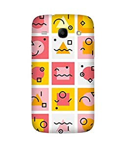 Funny Expressions Samsung Galaxy Core I8260 Printed Back Cover