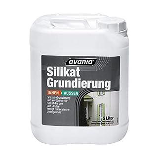 Avania Silikat Grundierung Innen/Aussen Weiß matt 10 Liter