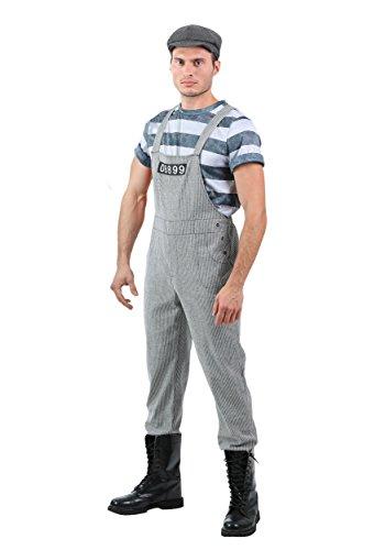 Men's Chain Gang Prisoner Fancy dress costume (Gang Chain Kostüme)