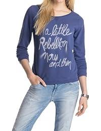ESPRIT - 044EE1J008 mit schönem Textprint - Sweat-shirt Femme