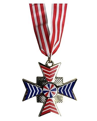 médailles carnaval avec ruban