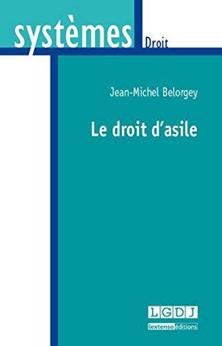 Le droit d'asile par Jean-Michel Belorgey
