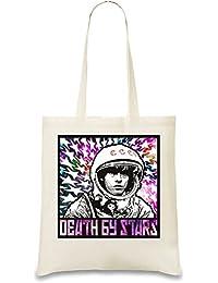 Yuri Gagarin Death By Stars Bolso de mano
