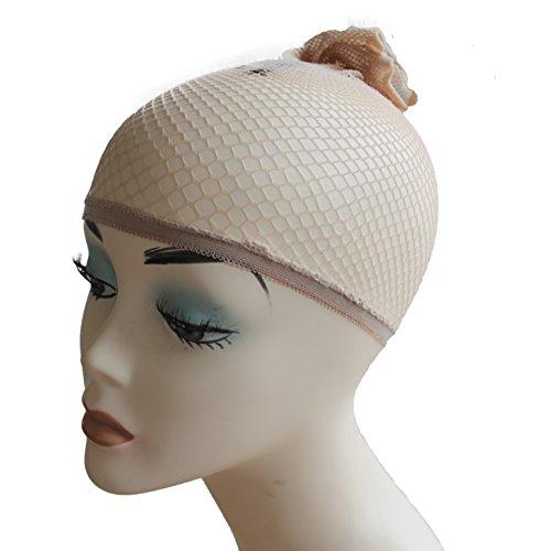 PRETTYSHOP Haarnetz Perückenunterziehhaube Wig Cap blond