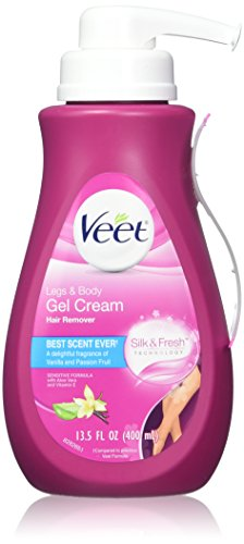 Veet Gel Cream Hair Remover 13.5oz Pump (Sensitive)