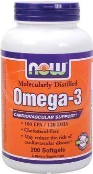 Now Foods Omega-3 Gelkapseln 1000mg 200 Stück
