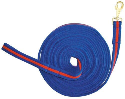 HKM 60586730 Longe -Soft, 8 m lang, M, kobaltblau / rot