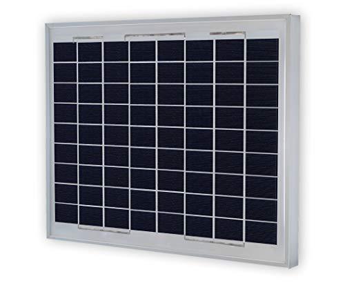 VIKOCELL Polykristalline Solarmodul 12V 10W für Solarpanel Batterie Aufladen
