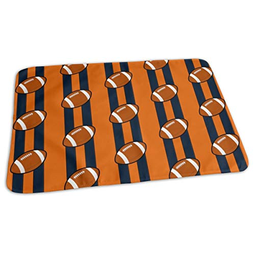 Chicago Bears Baby Portable Reusable Changing Pad Mat 19.7x 27.5 inch