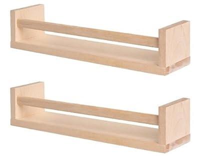 1 X Ikea Bekvam Wooden Spice Rack/Organizer in Birch (2-pack), Garden, Lawn, Maintenance by Garden-Outdoor