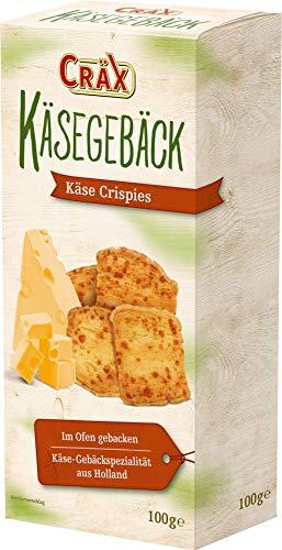 Cräx Butter Käsegebäck Käse Crispies