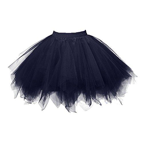 Juliet Moderne Kostüm (Honeystore Damen's Tutu Unterkleid Rock Abschlussball Abend Gelegenheit Zubehör)