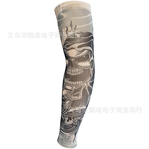 CXQ Tattoo Ärmel Rana Tattoo Ärmel Chinesischen Stil Tattoo Ärmel Große Blume Arm 3D Digital HD Tattoo, D81-1