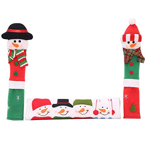 Tianzhiyi Wärmeisolationshandschuhe Mikrowellen Türgriffhandschuhe für sauberes Küchegerät und Küchendekoration -