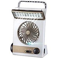 IronHeel Accionada Solar del Ventilador de refrigeración, 3 en 1 Multi-función de Mini