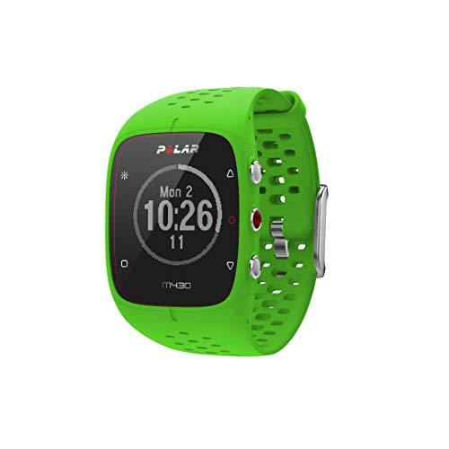 Polar GPS- Laufuhr M430 mit Herzfrequenzmessung grün (400) 000 -